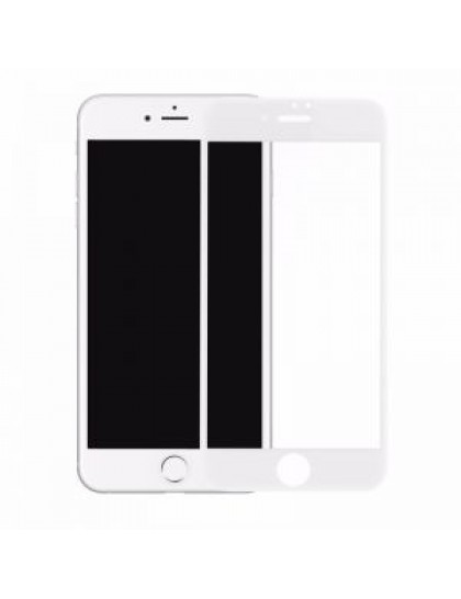 Защитное стекло Devia для iPhone 7+ 0.18mm Jade Full Cover  (White)