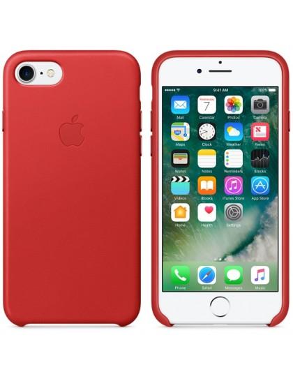 Чехол-накладка Apple Leather Case for iPhone 7