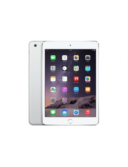 Apple iPad mini 3 Wi-Fi + LTE 128GB Silver (MH3M2, MGJ32)