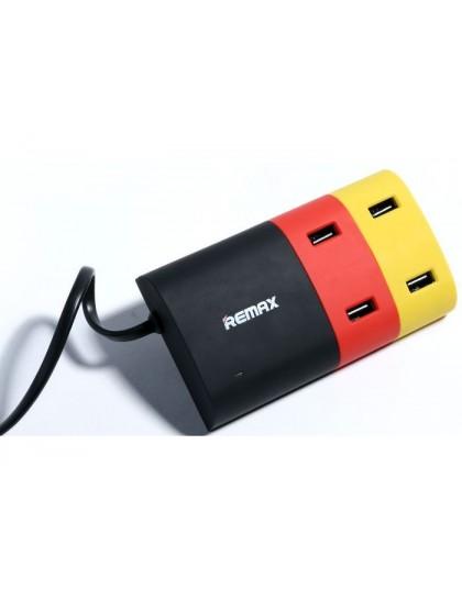 Сетевое зарядное устройство REMAX Travel 4 USB 6.2A